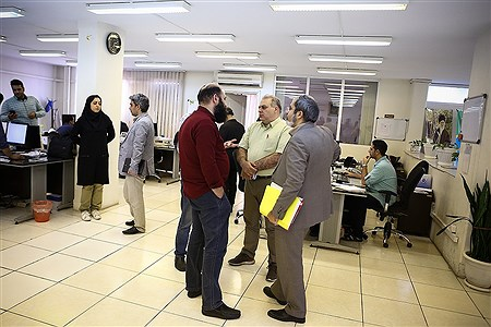 بازدید جمعی از مدیران رسانه ها از خبرگزاری پانا | Mahdi Maheri