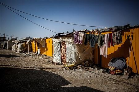 اسکان موقت مردم زلزلهزده شهر تازه آباد در کانکس | Ali Sharifzade