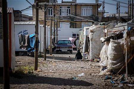 اسکان موقت مردم زلزلهزده شهر تازه آباد | Ali Sharifzade