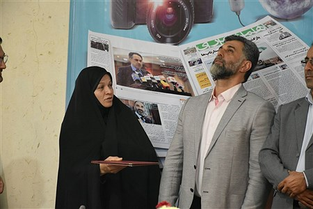 تجلیل خبرنگاران بابلسر | Alireza Asgharzadeh
