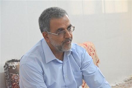 دیدار و تجلیل از آزاده فرهنگی سید جواد حسینی مقدم روستای سربست  دشتستان   Mohsen Roshan