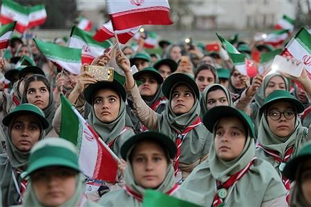 اختتامیه هشتمین اردوی ملی پیشتازان دختر | Hossein Paryas