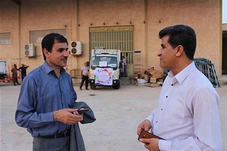 کاروان تجهیزات ورزشی ، بهداشتی مدارس استان بوشهر    Meysam Mehrzadeh