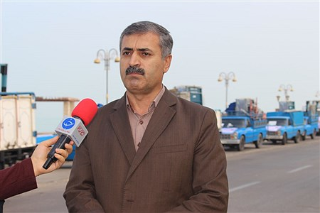 کاروان تجهیزات ورزشی ، بهداشتی مدارس استان بوشهر  | Meysam Mehrzadeh