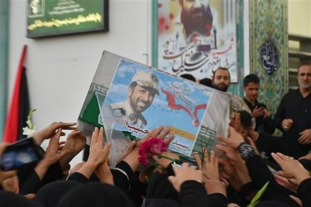 استقبال از شهید مدافع حرم سید جلال حبیبالهپور | Alireza Asgharzadeh