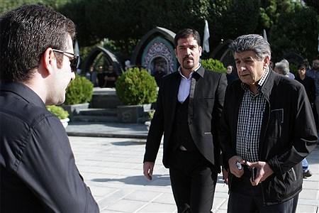 مراسم تشییع پیکر مرحوم «حسین عرفانی » | Hossein Paryas