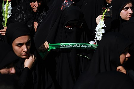 مراسم تشییع پیکرهای مطهر ۱۳۵شهید گمنام دفاع مقدس | Bahman Sadeghi