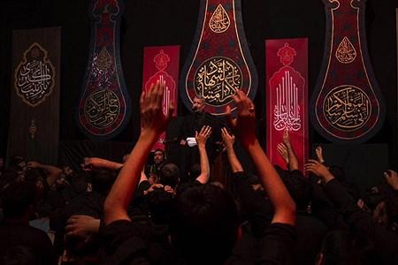 عزاداری سید الشهداء در هیأت فاطمیون قم | alireza dehshiri