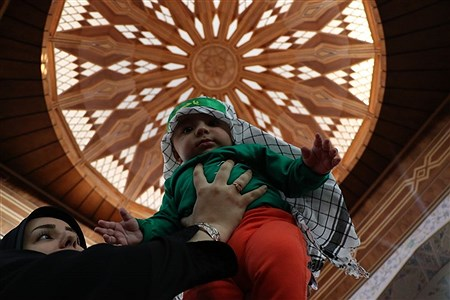 مراسم شیرخوارگان حسینی در تبریز    masoud sepehrinia