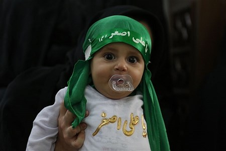 مراسم شیرخوارگان حسینی در تبریز |  masoud sepehrinia