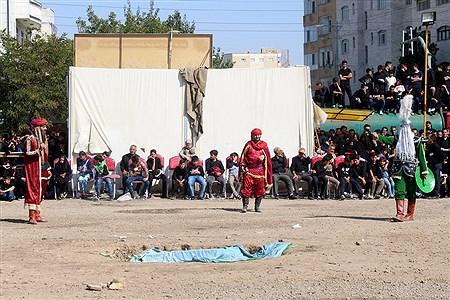 مراسم شبیه خوانی در محله شنب قازان تبریز  | Sevil Namvar
