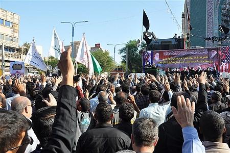 تشییع پیکر شهدای حادثه تروریستی اهواز  | Afshin Larki