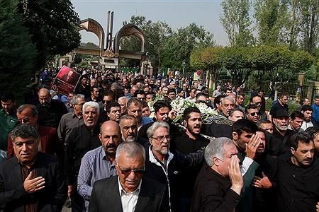 مراسم تشییع مرحوم  بهرام شفیع | Bahman Sadeghi
