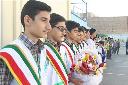آیین افتتاح کانون سلمان در ناحیه 3 آموزش و پرورش استان قم  | mahdi janati