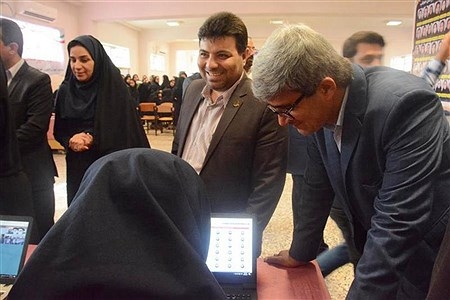 انتخابات شوراهای دانش آموزی  دبیرستان  حجاب  بوشهر   Zahra Kamali