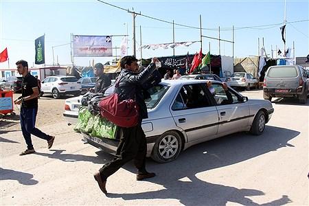 خدمات رسانی به زایرین اربعین در مرز شلمچه  | Mohamad Shahrokh Nasab