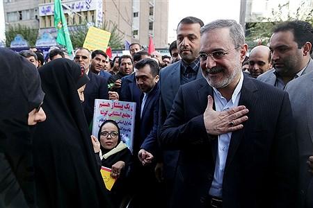 مراسم راهپیمایی ۱۳ آبان   Behzad Ganbozorgi