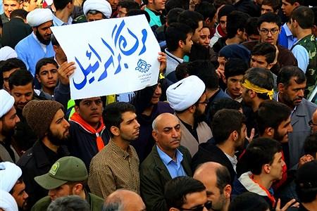 مراسم راهپیمایی ۱۳ آبان  با حضور مقامات لشکری و کشوری | mohamad sajad ghadiry