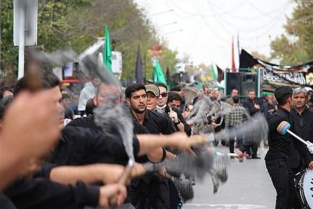 مراسم عزاداری در روز شهادت امام حسن مجتبی(ع) و رحلت پیامبر اکرم (ص) در مشهد    Moein Mohamadirokh