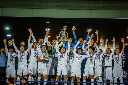 مراسم اهدای جام قهرمانی فینال لیگ قهرمانان آسیا | Ali Sharifzade