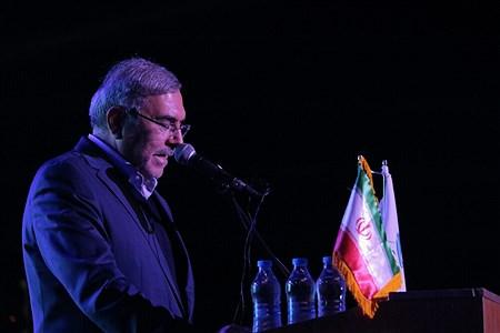مراسم رسمی روز کیش با حضور دکتر انصاری لاری  در جزیره کیش   Amir Hossein Yeganeh