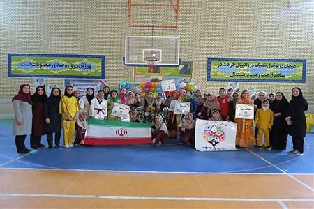 المپیاد ورزشی دبیرستان شهیده  سهام خیام  بوشهر | Sama Shafiee Sarvestani