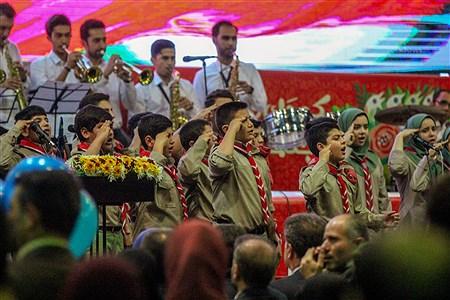 اجرای گروه ویژه پیشتازان همدان در مراسم افتتاحیه جشنواره بین المللی تئاتر | Setare maboodi