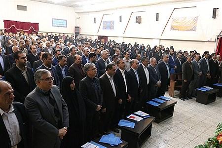 حضور مدیر کل مدارس غیر انتفاعی وزارت آموزش وپرورش در مراسم صبحگاه اداره کل آموزش وپرورش استان کرمان  | mohammad saleh arabpoor