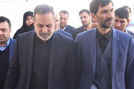 بازدید وزیر از مدرسه اسوه حسنه زاهدان | reza hagdhoost