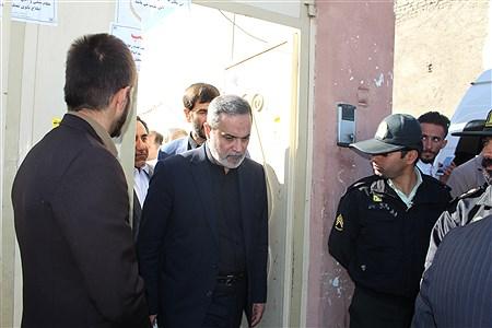 بازدید وزیر آموزش و پرورش از مدرسه حادثه دیده اسوه حسنه زاهدان | reza hagdhoost