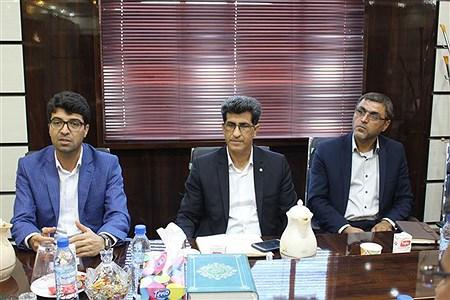 دیدار نایب رئیس  فدراسیون موج سواری آسیا  با مدیر کل | Mohsen Roushan