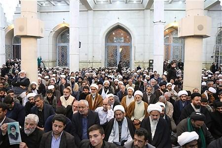 مراسم ختم آیت الله هاشمی شاهرودی در قم | Sajad Hayatpour