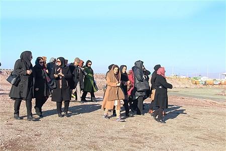 ارومیه (پانا) - سرگروههای جغرافیای ادارات کل آموزش و پرورش کشور از دریاچه ارومیه بازدید کردند. | Kianosh Kharbozekar