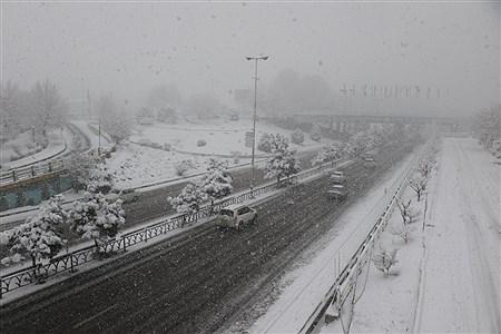 اولین برف زمستانی در ارومیه | Amir Hosein Mollazadeh