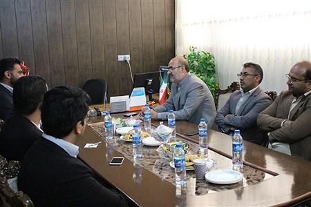 دیدار مدیر سازمان دانشآموزی سیستان و بلوچستان با رئیس اتحادیه انجمنهای اسلامی دانشآموزان | mobin kamalei