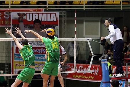 دیدار تیمهای والیبال شهرداری ارومیه و کاله آمل | Amir Hosein Mollazadeh