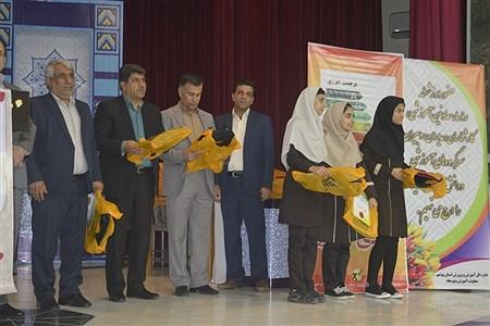 همایش تقدیر از برگزیدگان  چهارمین جشنواره نوجوان خوارزمی استان بوشهر    Ghazal Ramzanian