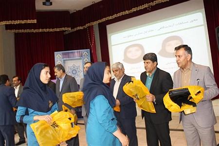 همایش تقدیر از برگزیدگان  چهارمین جشنواره نوجوان خوارزمی استان بوشهر  | Ghazal Ramzanian