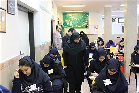 بازدید مهاجرانی از برگزاری  المپیادهای دانش آموزی  | Mohamad sajad ghadiry