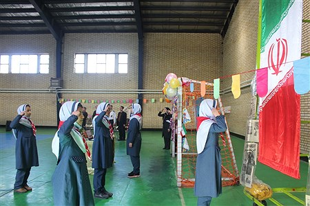 مراسم تحلیف دستمال گردن با حضور رئیس سازمان دانش آموزی استان همدان | Sahar Chahardoli