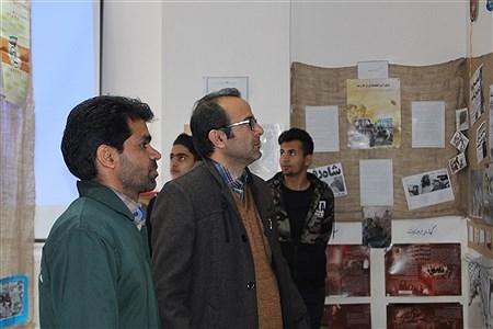 افتتاح نمایشگاه انقلاب درهنرستان فنی و حرفه ای ابوذر  | Ali Mazloomi