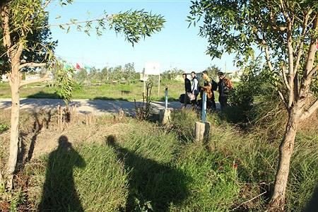 حضور دانش آموزان قمی در اردوی راهیان نور | mohammad mahdi ghosori