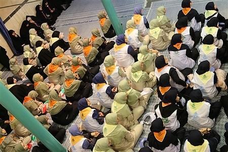حضور پیشتازان فاطمی در حسینیه جماران در ایام مبارک دهه فجر   Mohamad sajad ghadiry