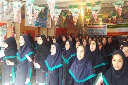 بازدید رئیس سازمان دانش آموزی استان همدان از تمرین سرود 1357 نفری در مدارس | Majid Serkani