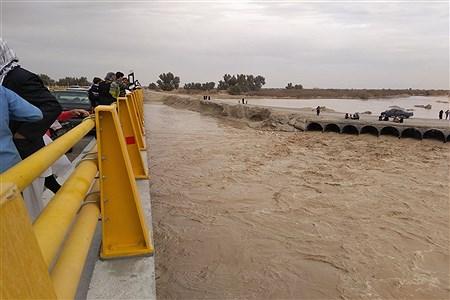 سیلاب وارد سیستان شد | ahmad barahoui