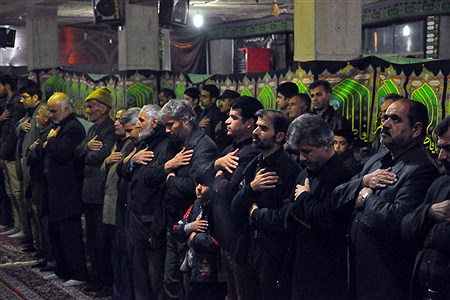 مراسم شام غریبان حضرت فاطمه زهرا (س) در مسجد جامع شهرستان خوسف   | Mahdi Arasteh