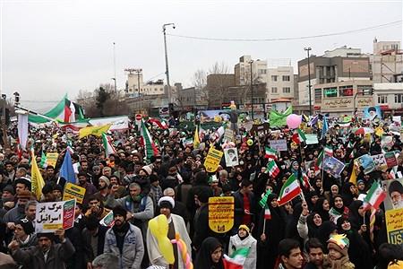 حضور مسئولین آموزش و پرورش خراسان رضوی در راهپیمایی 22 بهمن مشهد | Javad Ebrahimi