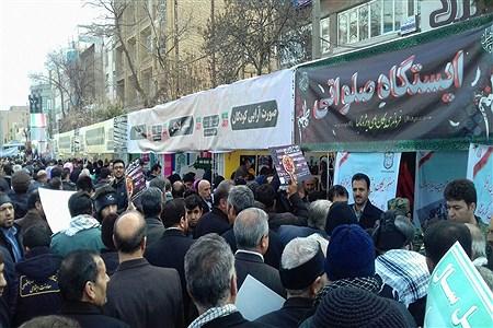 حضور مردم در راهپیمایی 22 بهمن | Vahid moradi