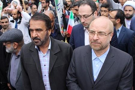 راهپیمایی 22 بهمن در بوشهر  | Abdol hossein Sadeghi