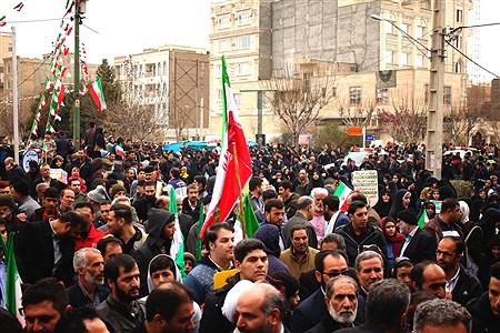 راهپیمایی ۲۲بهمن در شهرستان رباطکریم همزمان با چهلمین سال پیروزی انقلاب اسلامی ایران | Kosar Zakermoghadas